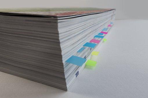 Sticky Notes, Einmerken, Make A Note Of, Paper, Catalog
