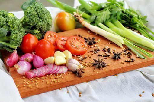 Food, Vegetable, Healthy, Meal, Onion, Cooking, Diet