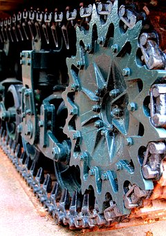 Industry, Motor, Steel, Iron, Machine, Gear, Rusty