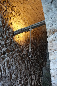 Noose, Hanging, Rope, Historical, Old, Past