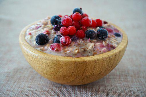 Oats, Overnight Oats, Porridge, Sweet, Food, Fruit