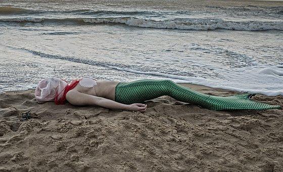 Water, Beach, Sea, Sand, Ocean, Self Love, Magic, Red