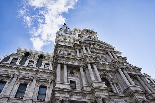 Architecture, Old, Travel, City, Building, Philadelphia