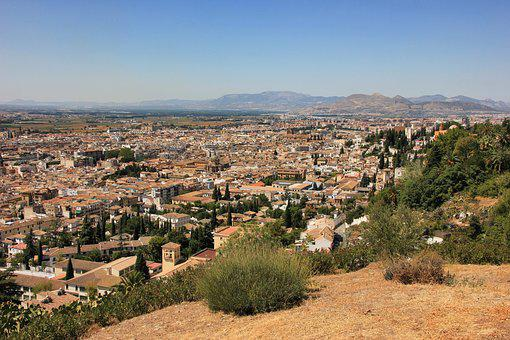 City, Panorama, Travel, Landscape, Hill, Architecture