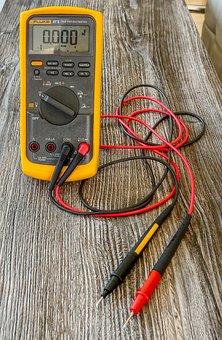 Equipment, Tool, Multimeter, Voltage, Resistance