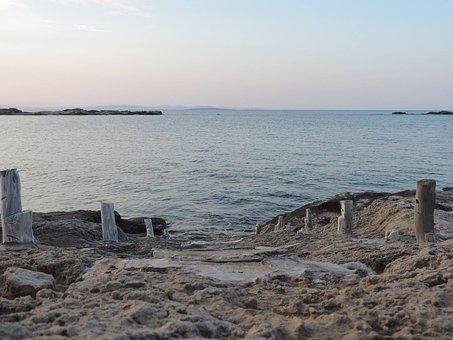 Body Of Water, Costa, Sea, Beach, Landscape, Sunset