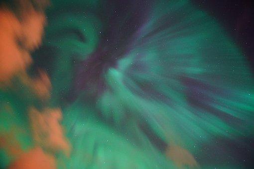 Northern Lights, Aurora, Sky, Light Phenomenon, Shining