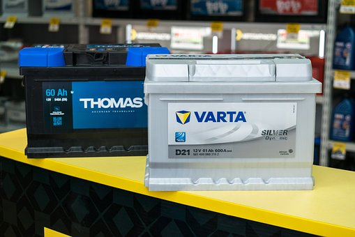 Shop, Product, Stock, Machine, No One, Battery Varta