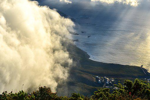 Table Mountain, South Africa, Nature, Panoramic