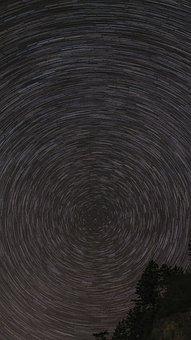Stars, Night Sky, Sky