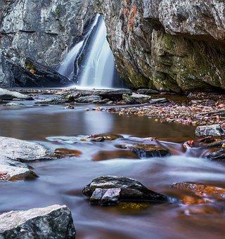 Water, Waterfall, River, Stream, Nature, Rock, Cascade