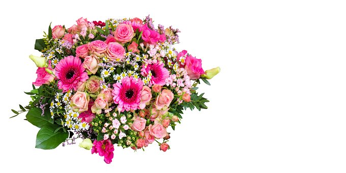 Flower, Nature, Bouquet, Floral Greeting, Thank You