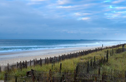 Water, Nature, Outdoors, Travel, Sea, Ocean, Fence