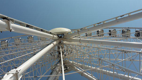 Sky, Travel, Industry, Technology, Power, Steel, High
