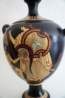 Art, Vase, Ornament, Antiquity, Antique, Old, Vertical