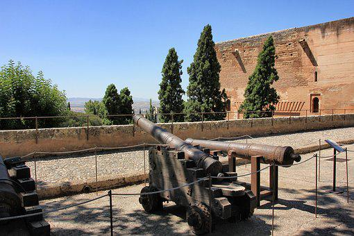 Gun, War, Old, Military, Travel, Architecture, Building