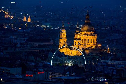 Travel, City, Architecture, Cityscape, Illuminated