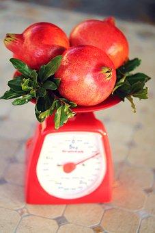 Garnet, Pomegranate, Fruit, Red, Sour, Dessert, Harvest