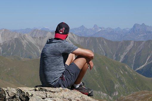 Hike, Nature, Adventure, Mountain, Travel, Sky