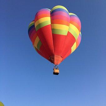 Balloon, Hot-air Balloon, Air, Freedom, Sky, Floating