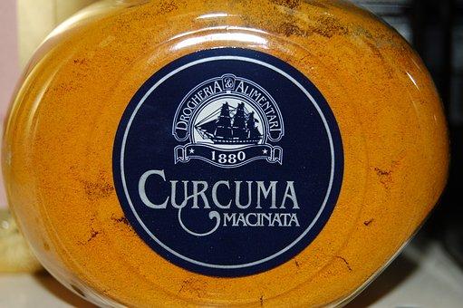 Turmeric, Spices, Ingredients, Kitchen, Spezia