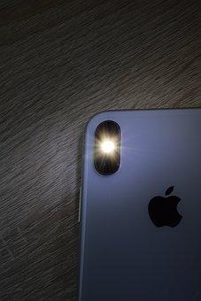 Cell Phone Camera, Mobile Phone, Lens, Flash Light