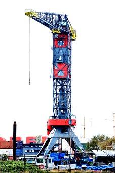 Industry, Hotel, Company, Steel, Crane, Metal, High