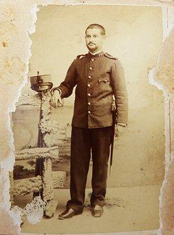 Military, Uniform, Military Service, Ancestor, Old
