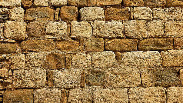 Pierre, Wall, Brick, Old, Earth, Straw, No Person
