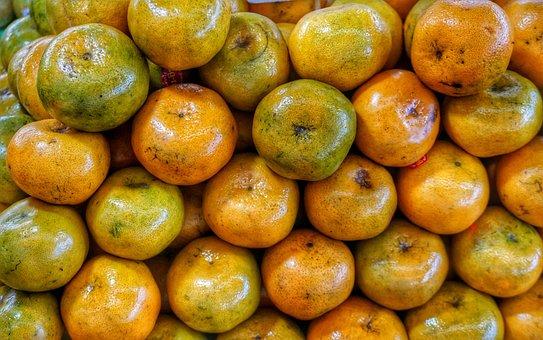 Thai, Tangerines, Oranges, Fruit, Food, Healthy