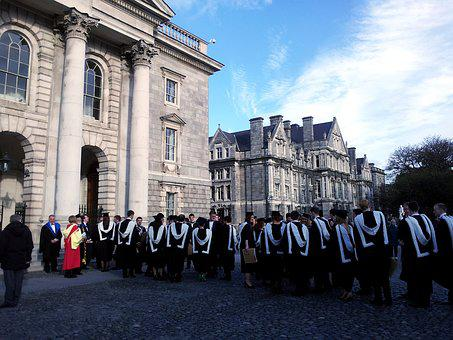 Ceremony, University, Graduation, Orla, Trinity