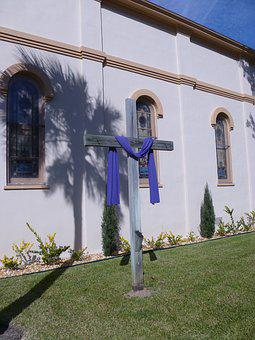 Architecture, Outdoors, Palm Sunday, Cross, Church