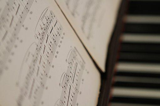 Piano, Old, Paper, Classic, Instrument, Music, Harmony