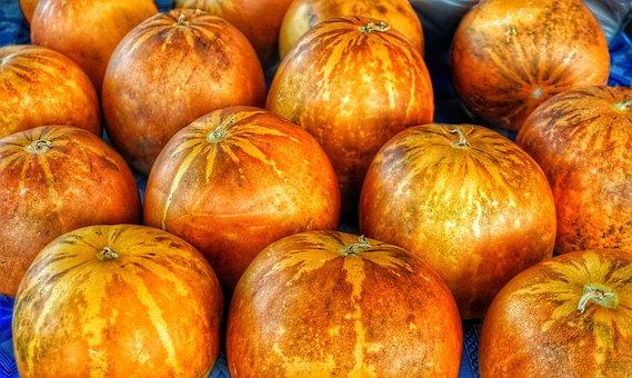 Kakai, Pumpkin, Food, Fruit, Seeds, Display, Crop