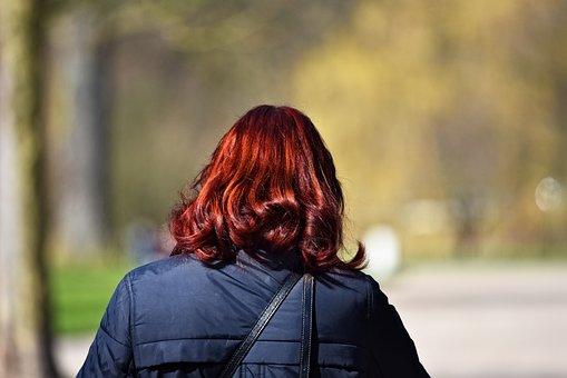 Auburn Hair, Hair, Auburn, Woman, Head, Locks, Shiny