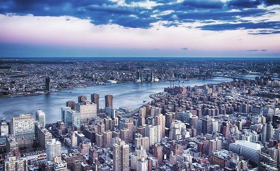 City, Cityscape, Skyline, Panoramic, Architecture