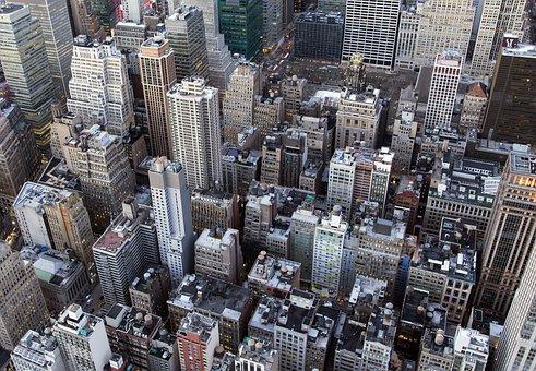City, Skyscraper, Cityscape, Skyline, Downtown