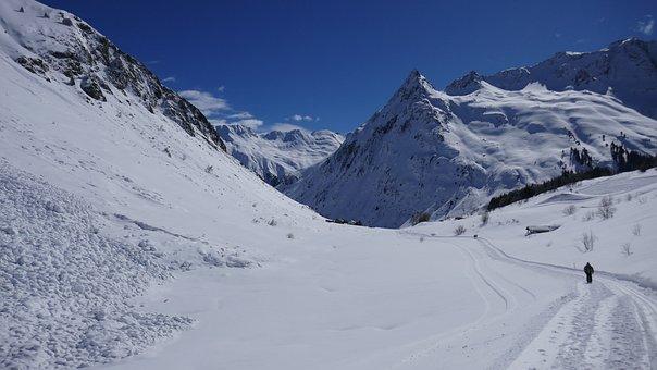 Snow, Mountain, Winter, Mountain Summit