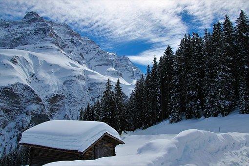 Snow, Mountain, Winter, Panorama, Mountain Summit