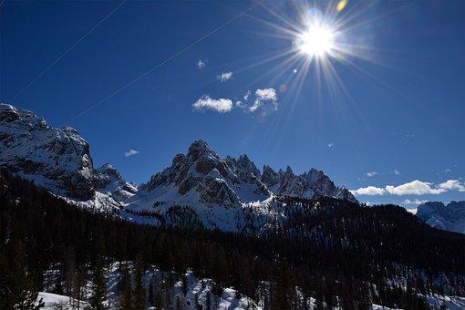 Landscape, Alpine, Dolomites, South Tyrol, Mountain