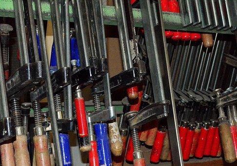 Tool, Screw Clamp, Joinery, Storage, Craft, Ferrule
