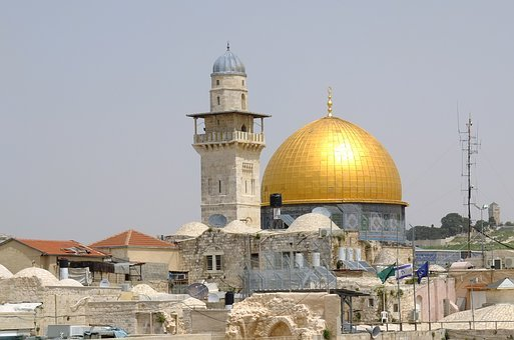 Al Akschar Mosque, Temple Mount