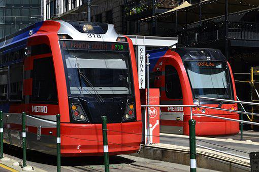 Transportation System, Bus, Car, Train, Traffic, Street