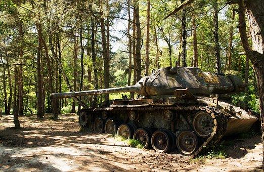 Wood, Tree, Nature, Army, Military
