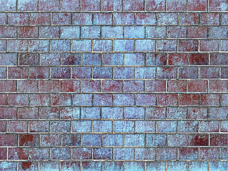 Sand-lime Brick, Wall, Background, Grid, Pattern