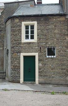 House, Architecture, Old, Door, Brick, Window, Diamonds