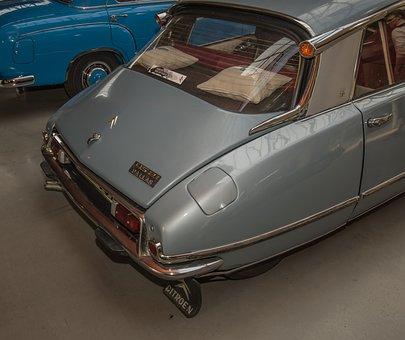 Auto, Citroen, Pallas, Ds21, Oldtimer, Vehicle