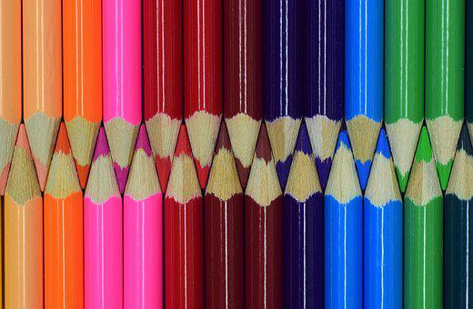 Color, Wood Pen, Colorful, Paint, Draw, Art, Beautiful