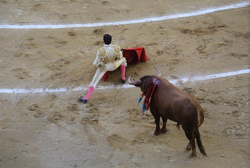 Torero, Bullring, Blood, Courage, Matador De Toros