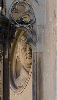 Martin Luther, Relief, Religion, By Looking, Sculpture